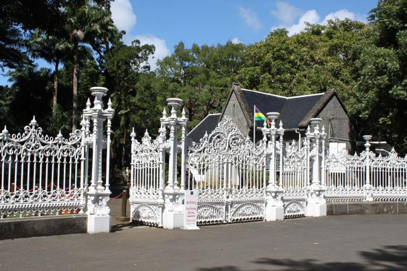 sir seewoosagur ramgoolam botanical garden mauritius entrance gate