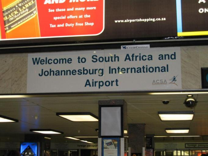 johannesburg airport entrance
