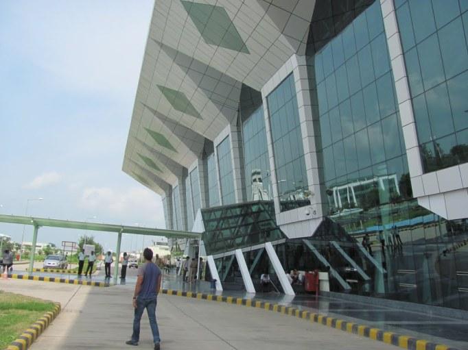 udaipur airport facade