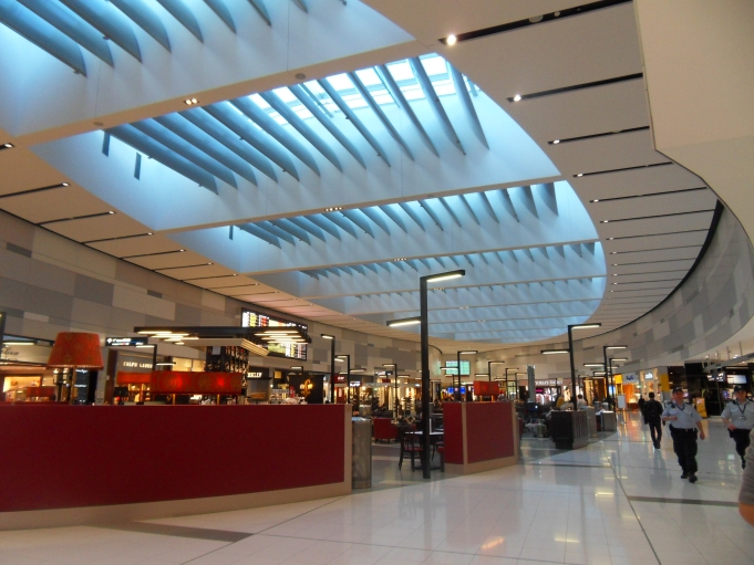 inside view of sydney airport