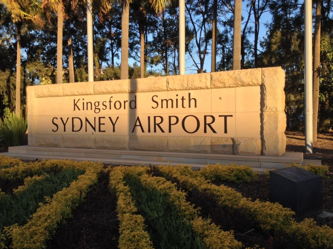 Sydney airport entrances