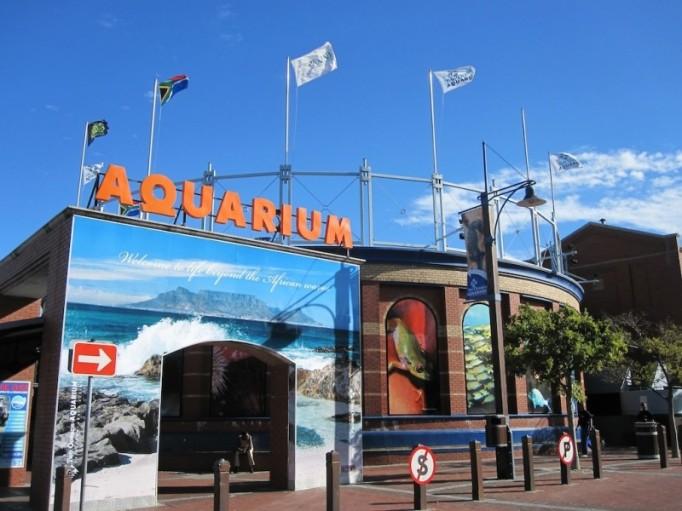 two oceans aquarium entrance cape town