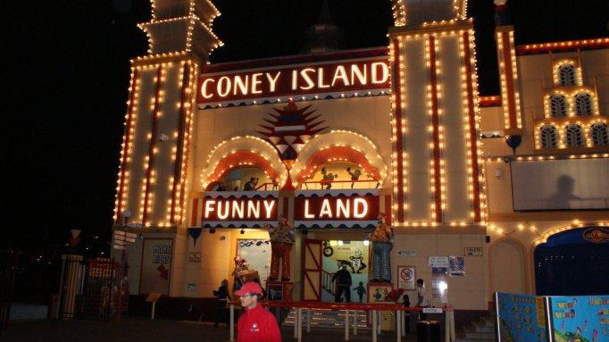 coney island at luna park sydney australia