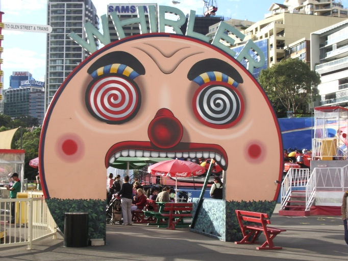 luna park main entrance sydney australia