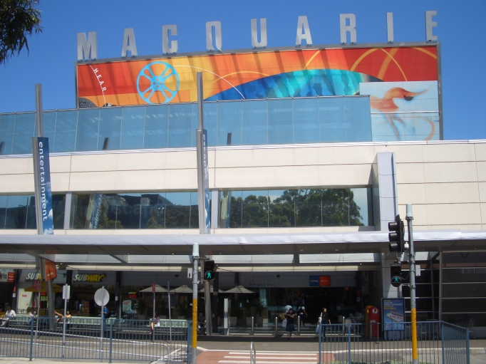 macquarie shopping centre australia