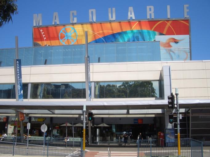 macquarie shopping centre australia