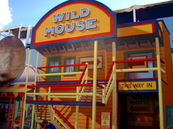 wild mouse at luna park sydney australia