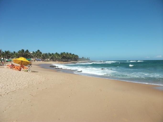 itapua beach salvador brazil