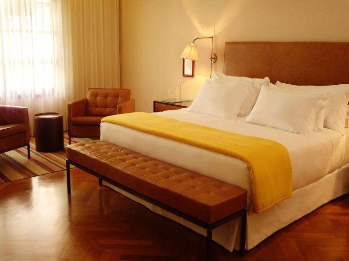 suite in fasano hotel sao paulo brazil