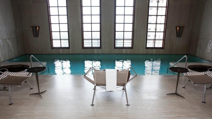 swimming pool in fasano hotel sao paulo brazil