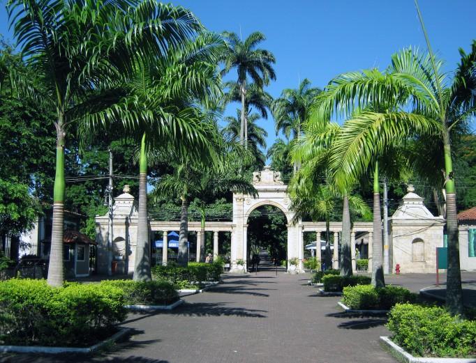 quinta da boa vista entrance brazil