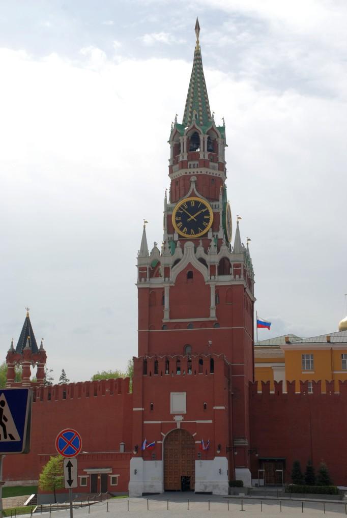 kremlin tower russia