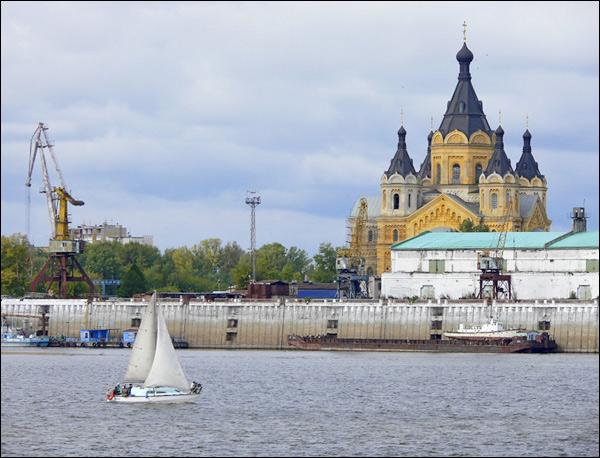 nizhny novgorod scenery russia