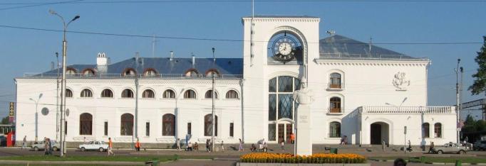novgorod railway station russia