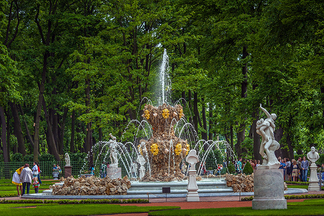 summer garden st petersburg