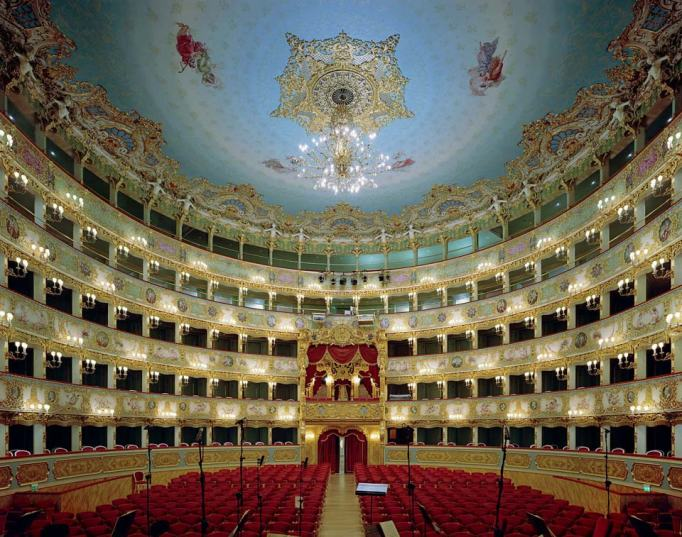 Auditorium in royal opera house stockholm sweden