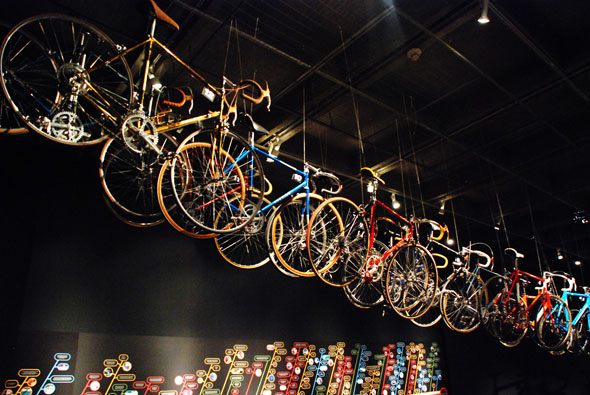 Bicycle in Museum of Vancouver