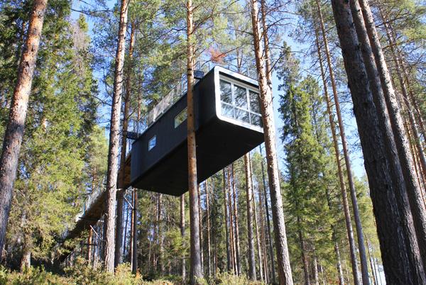Destination Of The Week Treehotel Harads Sweden Travhost