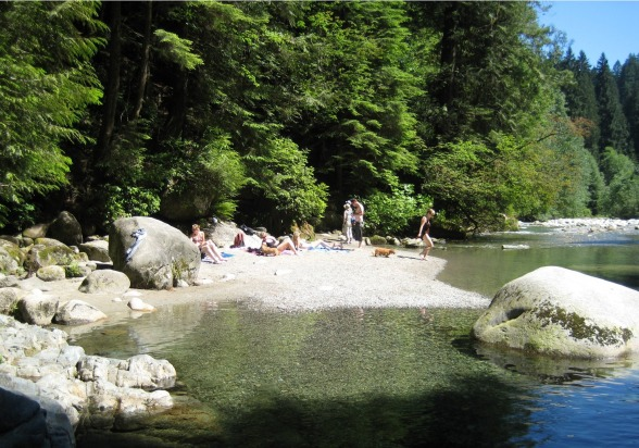 Swimming Hole at Lynn Canyon Park