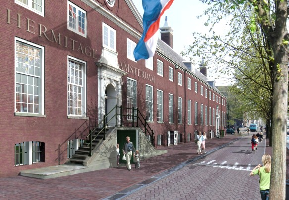 Side View of Hermitage Amsterdam