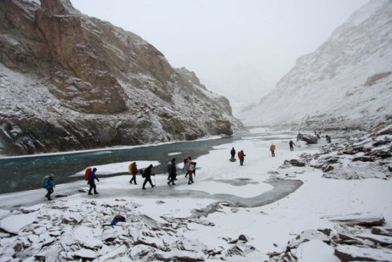 Adventure Trekking at Himalaya Mountains