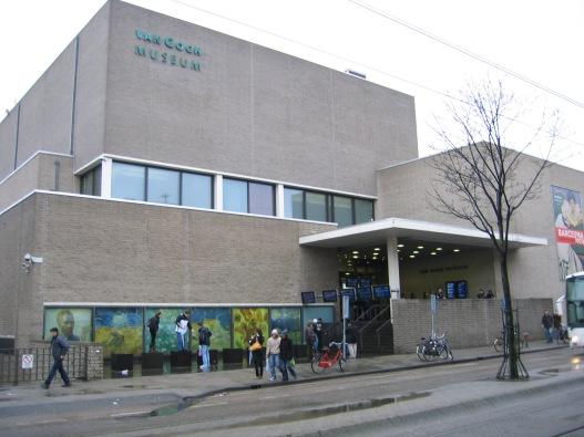 View of Van Gogh Museum Amsterdam