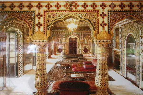internal view of city palace Jaipur